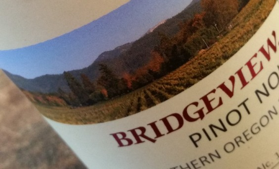 Bridgeview pinot noit 2013